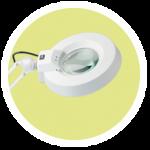 Lupenlampen und Arbeitsleuchten